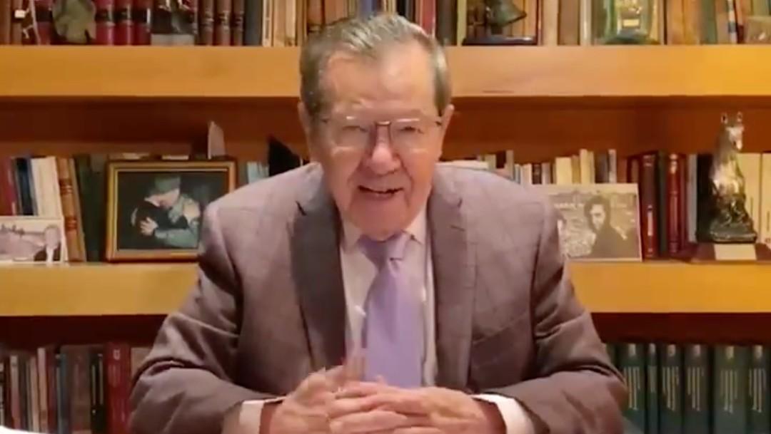 Muñoz Ledo: Tercera encuesta del INE para presidir Morena no tendría validez