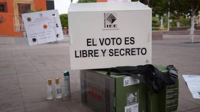 El Instituto Estatal Electoral de Hidalgo informó que las elecciones de este domingo no tendrán PREP