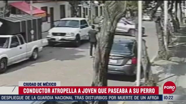 presunto juez atropella a peaton en la ciudad de mexico