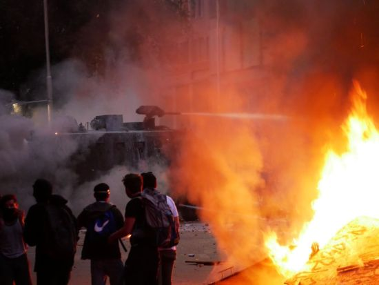 Las protestas en Chile que llevaron a un plebiscito