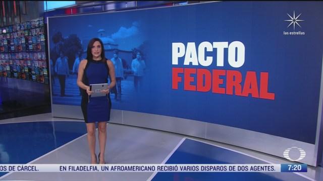 que es el pacto federal