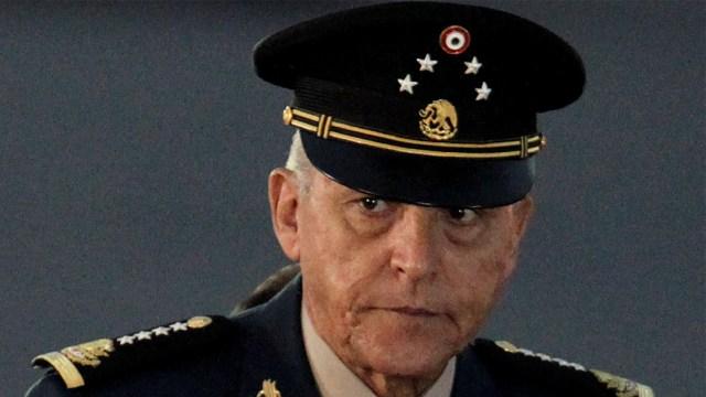 salvador cienfuegos exsecretario de la defensa nacional
