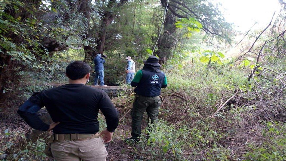 Salvatierra, narcocementerio del estado de Guanajuato; suman 61 cuerpos hallados.