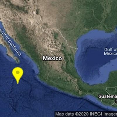 Se registra sismo con epicentro en Cabo San Lucas, Baja California Sur