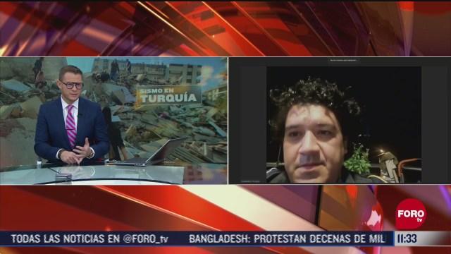 situacion en turquia por sismo es grave dice mexicano en izmir