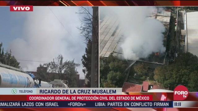suman dos bomberos lesionados por incendio en cuautitlan izcalli