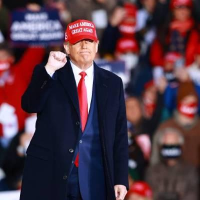 Trump dice que Biden y los demócratas intentan