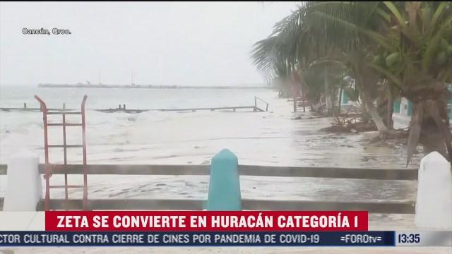 zeta se convierte en huracan categoria