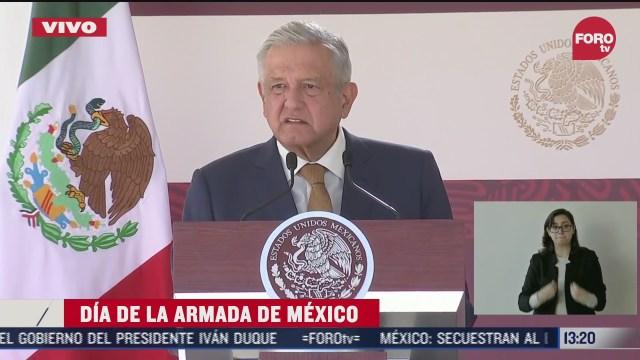 amlo conmemora el dia de la armada de mexico