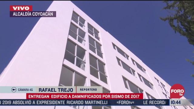 autoridades capitalinas entregan edificio rehabilitado en tlalpan cdmx
