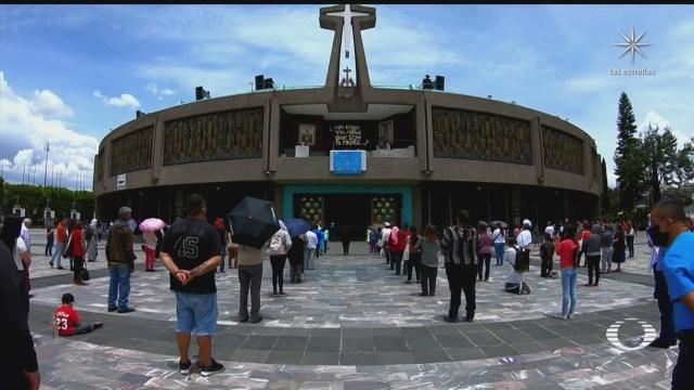 autoridades de cdmx y eclesiasticas detallan cierre de basilica de guadalupe