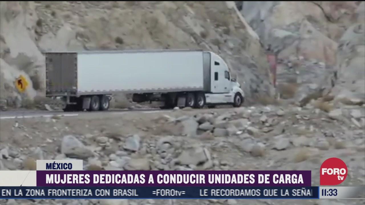 canacar reconoce aumento de mujeres traileras