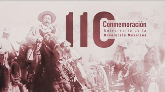 celebracion del 110 aniversario del inicio de la revolucion mexicana parte