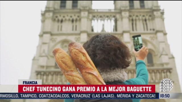 chef tunecino gana premio a la mejor baguette en francia