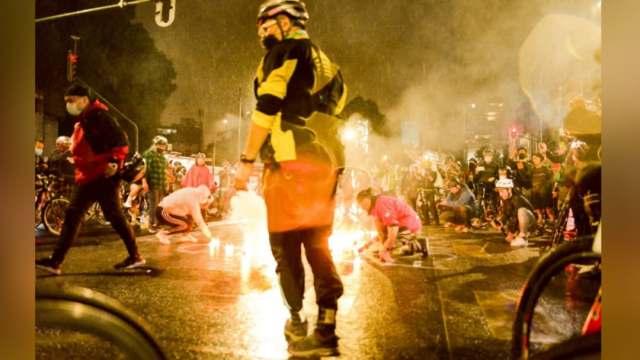 Cientos de ciclistas protestan exigiendo justicia para Mario