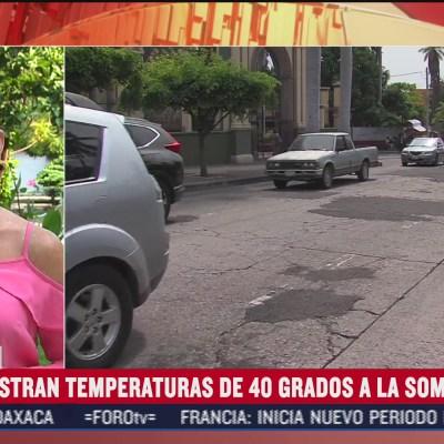 Colima, a 40 grados en pleno otoño