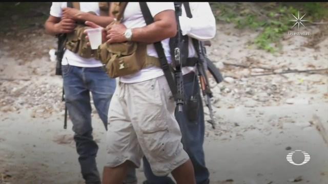 comunidad de michoacan emprende acciones ante el avance del cjng