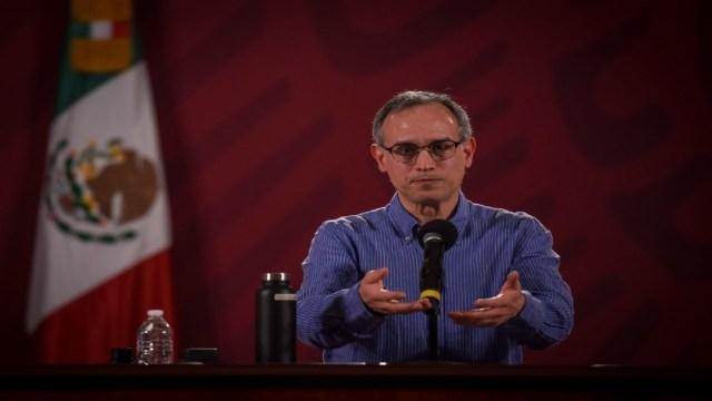 Contagios de COVID-19 seguirán subiendo hasta 2021: López-Gatell