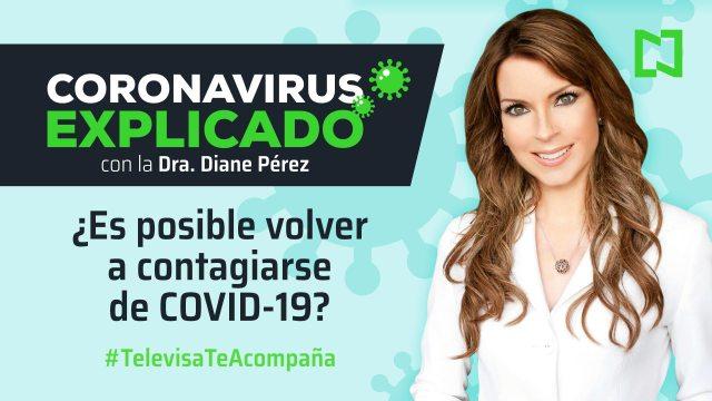 ¿Es posible volver a contagiarse de COVID-19?