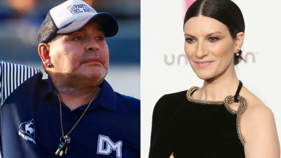 Maradona era un hombre poco apreciable Laura Pausini