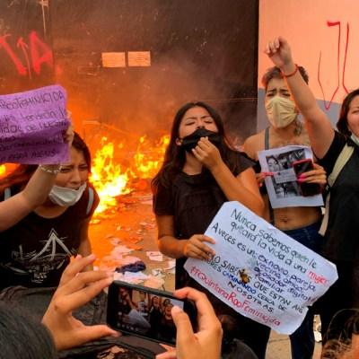 Destituyen al director de Policía de Cancún por ordenar disparos al aire en protesta feminista