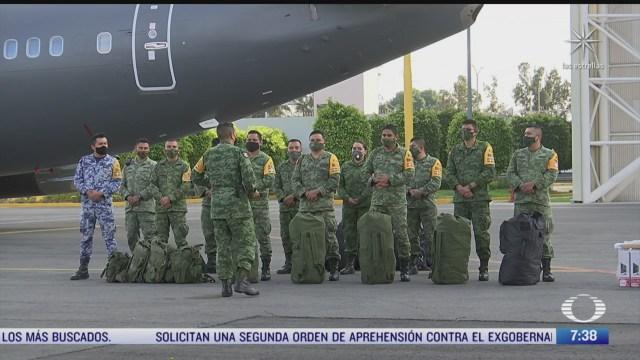 ejercito y fuerza aerea mexicana entregan ayuda a damnificados en tabasco