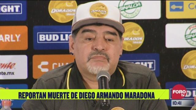 el paso de diego armando maradona por mexico