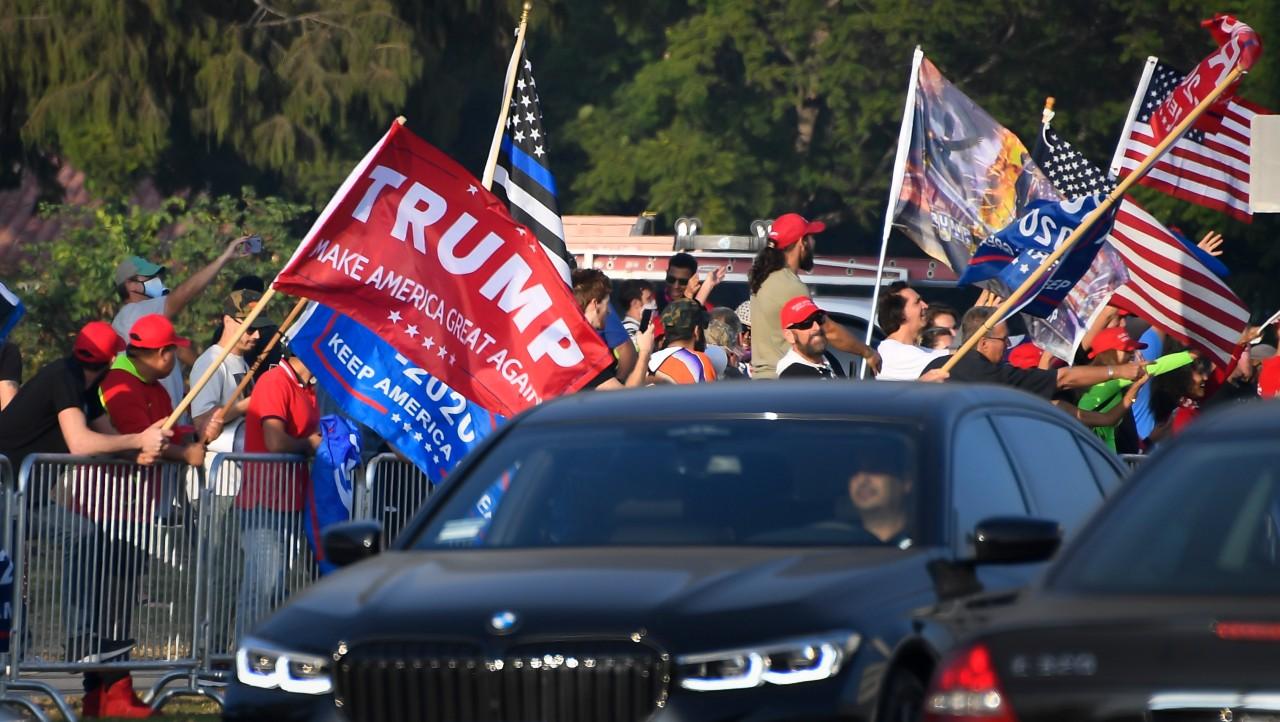 Trump recibe apoyo en California