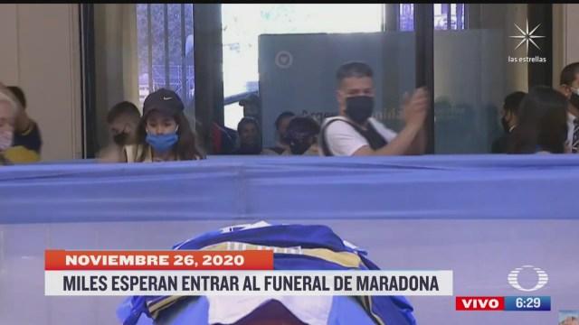 entierro de maradona sera en cementerio de periferia de buenos aires