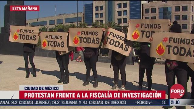 feministas se manifiestan por llamado a 13 mujeres por actos violentos en marcha del 8 de marzo