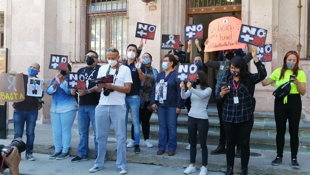 Fiscal de Guanajuato se reúne con reporteros por asesinato de periodista