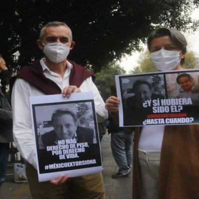 Franceses protestan en CDMX por muerte de empresario francomexicano