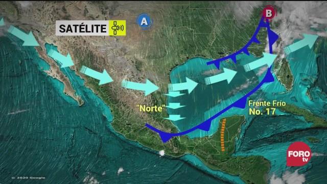 frente frio provoca temperaturas congelantes en chihuahua