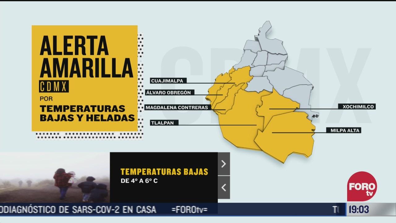 frio intenso en zonas altas de la cdmx