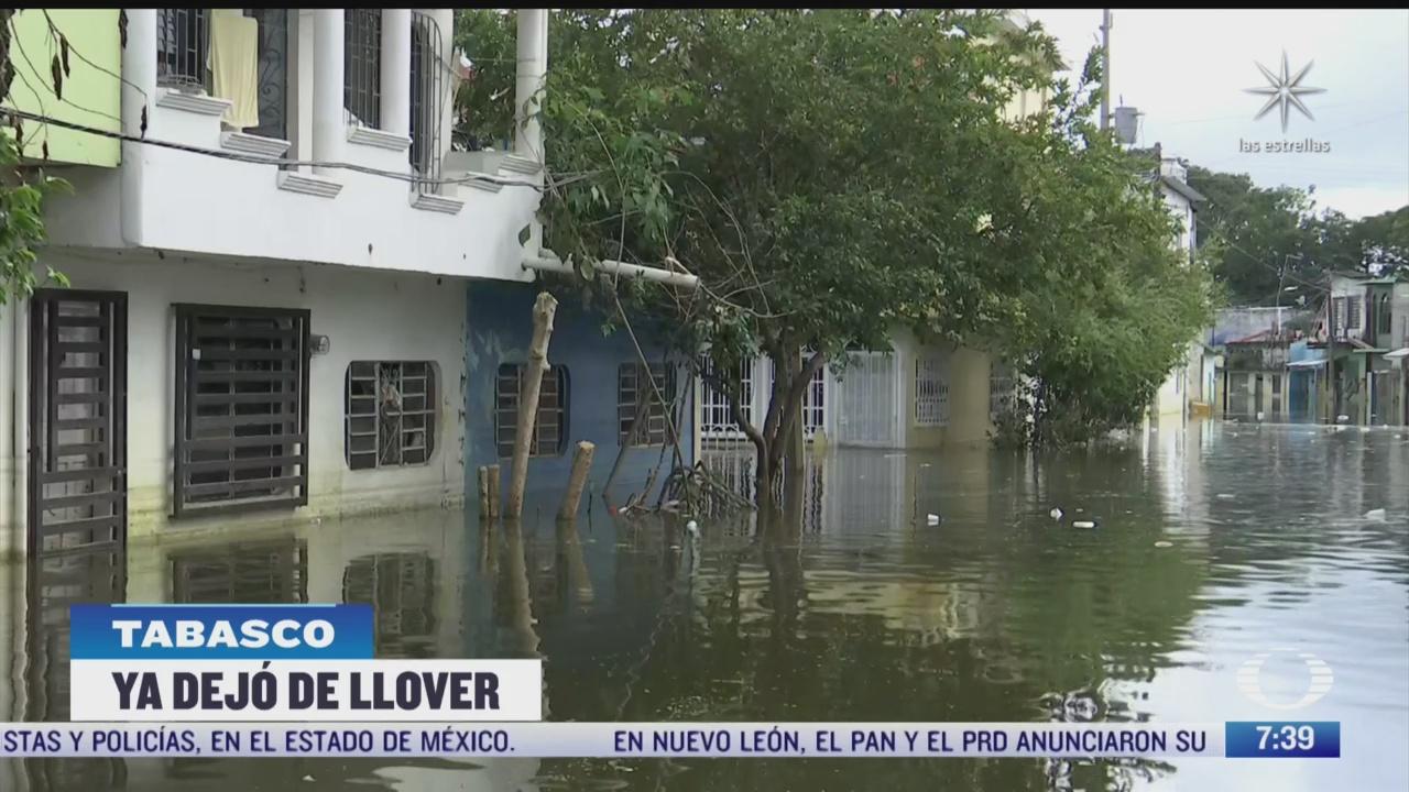 gobierno evaluara danos en tabasco por inundaciones