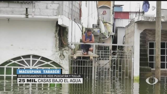 habitantes de macuspana denuncia que la ayuda no les llega
