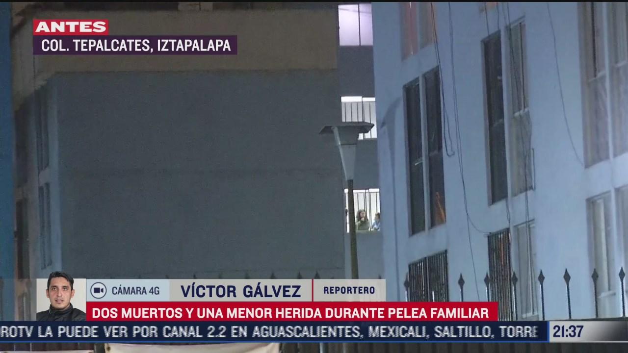 hombre se suicida tras matar a su pareja en pelea al interior de su casa en iztapalapa