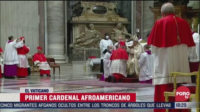 iglesia catolica nombra a su primer cardenal negro