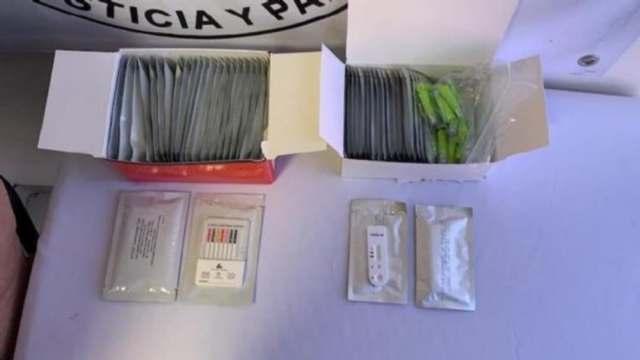 Incautan 11 mil pruebas rápidas COVID ilegales en Ciudad Juárez