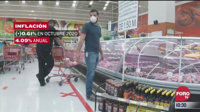 inflacion anual en mexico se ubica en 4 09 segun inegi