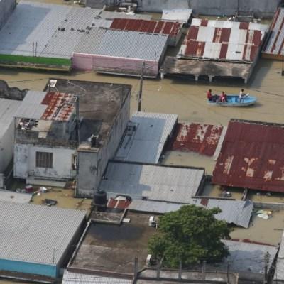 Protección Civil reporta 27 muertos y miles de afectados por lluvias en Chiapas y Tabasco