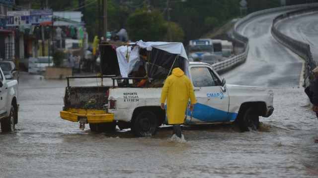 Inundaciones en Veracruz