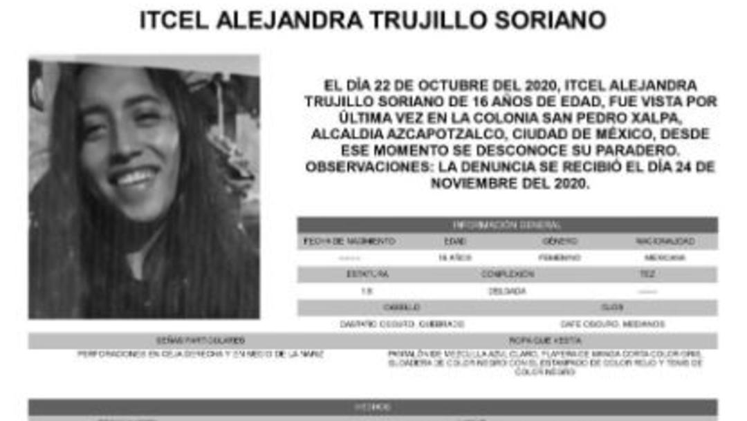 Activan Alerta Amber para hallar a Itcel Alejandra Trujillo – Noticieros Televisa thumbnail