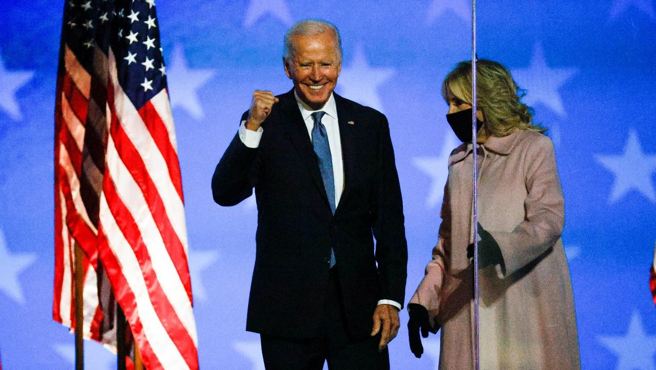 Joe Biden se dice optimista por el resultado en elecciones de EEUU