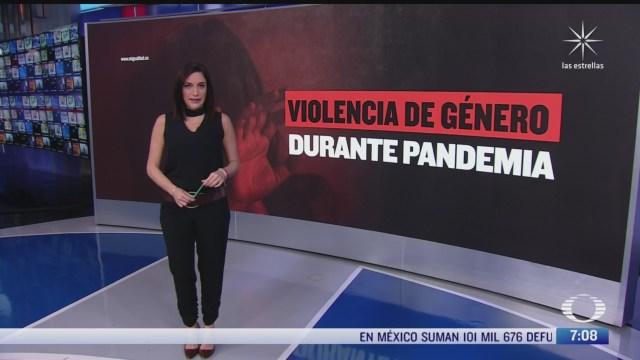 la violencia de genero durante la pandemia