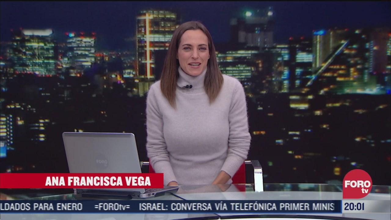 las noticias con ana francisca vega programa del 17 de noviembre de