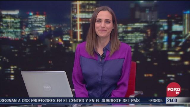 las noticias con ana francisca vega programa del 23 de noviembre de