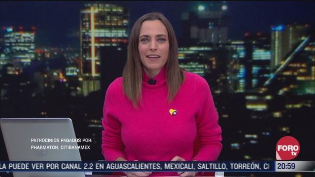 las noticias con ana francisca vega programa del 30 de noviembre de
