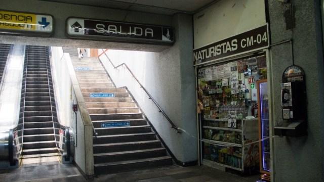 Local comercial al interior del Metro