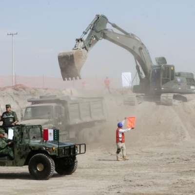 Militares, pilares de la construcción en México